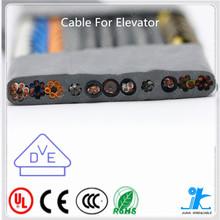 Pvc flexível Flat / rodada elevador cabo elevador cabo viajando pequeno elevador elétrico