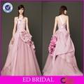 in raso e tulle abito di sfera fiore appliqued abiti da sposa a buon mercato fatti in cina