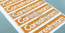 distinctive 3D quality scratch off dome sticker (M-EP052)