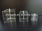 Wholesale square Glass Oil Lamp