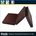 Easy fold and store high density foam folding floor mattress