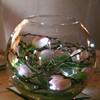 New Crystal Blossom LED battery String Lights,battery operated led fairy light, 7 ft., Battery Operated, Cool White