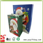 different sizes christmas paper party goody bags