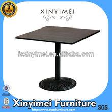 Coffee Melamine Round Portable Pub Table XYM-T16