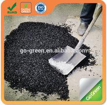 Cold asphalt in bag for road pothole repair driveway asphalt paving