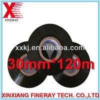 black color 30mm*120m size FINERAY brand hot stamp foil