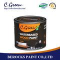 barniz de madera para muebles de pulverización de pintura de madera de protección de la superficie de la pintura
