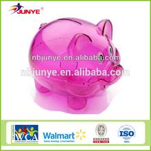 Ning Bo Jun Ye Kids Plastic Wholesale Piggy Banks