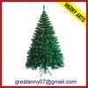 wholesale new style green 2015 new product xmas tree decoration