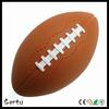 Custom stress ball American football shaped