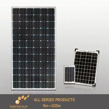 Customized designed 20w 12v solar panel for RV , home use
