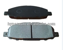 41060-VW085 less metal japanese brake pad disc for NISSAN