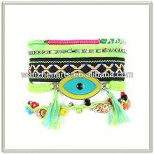 $0.99 UP - WH976301 Evil Eyes Brazilian Bracelet