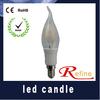 2014 new filament e14 led candle light led candle