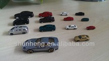 scale model car with different scale size