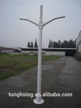 Double arm FRP street pole lights