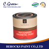 Water based magnetic chalk paint magic magnetic paint