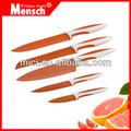 Pcs 5 no de colores- palo conjunto cuchillo de cocina