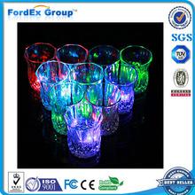 Custom popular bar plastic flashing light Led cup