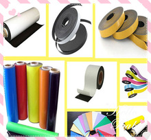 PVC or Paper Flexible Magnetic Sheet rubber magnet