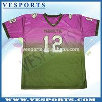 OEM service customize china made football shirt