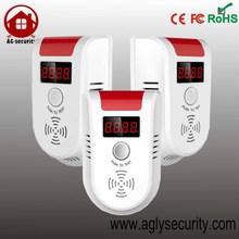 wireless Gas Sensor security sensor alarm for Home