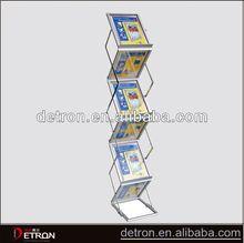 Stylish creative metal folding display shelves