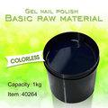 # 40264 grosso transparente cor de esmalte de unhas de gel, transparente de cor polonês gel de matéria-prima