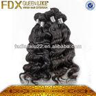 100% human hair 6a loose wave human hair for braiding
