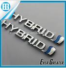 Custom metal badge Adhesive car decorations custom plastic chrome emblem plastic car emblem custom