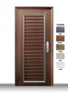 P1W31Wrought Iron Design Security Door