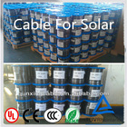 PV1-F Solar Cable 2.5/4.0/6.0mm2 solar pv cable 4mm2 monocrystalline solar cell price