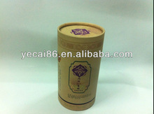 Delicate paper cosmetic package box for essential oil box