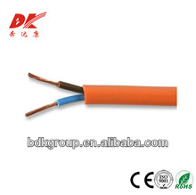 2 core circular V-90 insulated PVC sheath to AS/NZS 5000.1 orange cable