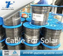 PV Photovoltaic Red & Black Cores 4mm2 single core xple cable 600 watt solar panel