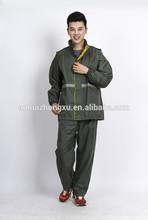 reflective workwear raincoat plastic raincoat rain coat antistatic coat