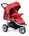 t13a ajustável punho carrinho de boneca 3 big rodas carrinho de bebê transporte bebê triciclo
