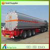 40-60CBM liquid asphalt tanker trailer with insulating layer