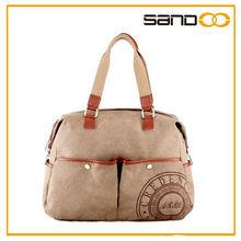 2014 the most popular handbag, women fashion canvas handbag 2014