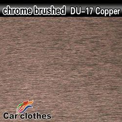 Chrome Sticker Car Wrap Brushed Vinyl Sticker