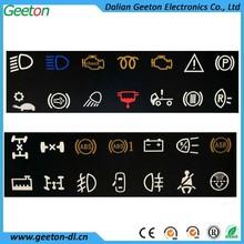 OEM&ODM Automobile Polycarbonate Digital Indicator lamp signal