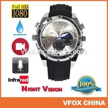 16G 1080P Watch Camera IR Night Vision Waterproof Hidden HD Watch Camera