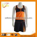 hembra nuevo spandex diseño vestido cheerleader