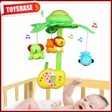 High quality electric baby mobile with projection