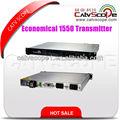 économique 1550nm externe modulé fibre optique émetteur/économique 1550 externe. émetteur optique de modulation