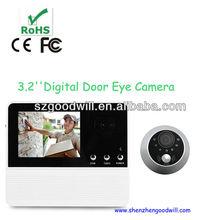Factory DIY 3.2 inch Good Night Vision 3 Times Digital Zoom Door Eye Viewer
