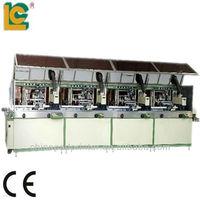 Automatic 4 color maquinaria para serigrafia for Plastic Bottle LC-120UV-4