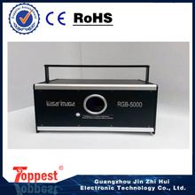 TOP 5W RGB-5000 dj laser light disco party lighting RGB 5w