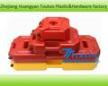 Colorido portátil 20L 5 galões de plástico jerry pode tanque de combustível gasolina com bico