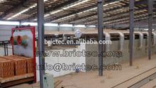 Automatic coal fired tunnel kiln with advanced brick making machine